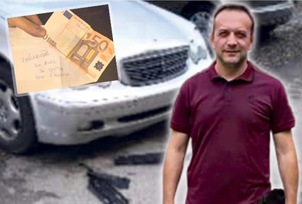 NESVAKIDAŠNJI DOGAĐAJ U NOVOM SADU: Udario mu auto pa mu ostavio 50 evra!