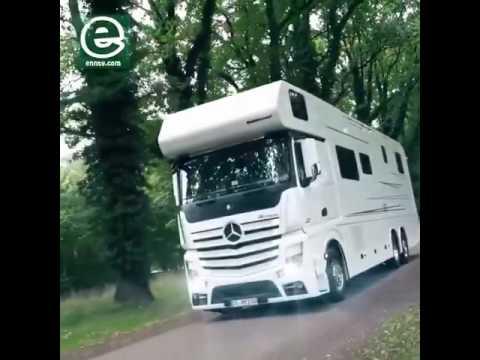 FANTASTIČNA Mercedesova kuća na točkovima