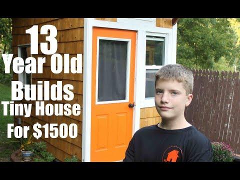 Decak od 13 godina napravio svoju kucicu za samo 1.500 dolara