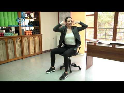 Vežbe za stomak na radnom mestu